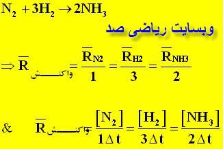 جزوه سینیتیک شیمی چهارم