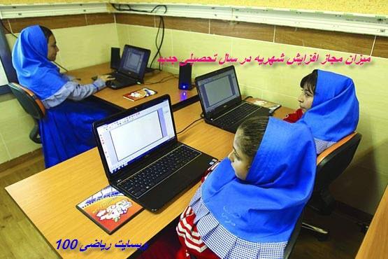 شهریه مدرسه های غیرانتفاعی تهران