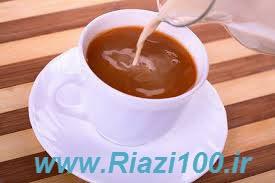 اضافه کردن شیر به چای