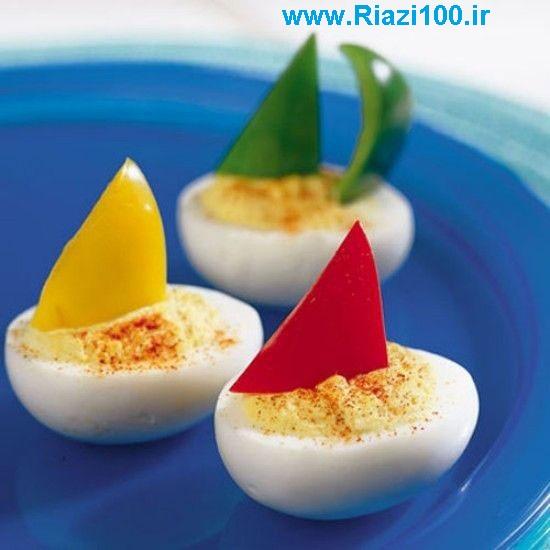 خلاقیت های زیبا با پخت تخم مرغ