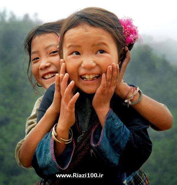 کودکان مغولستان